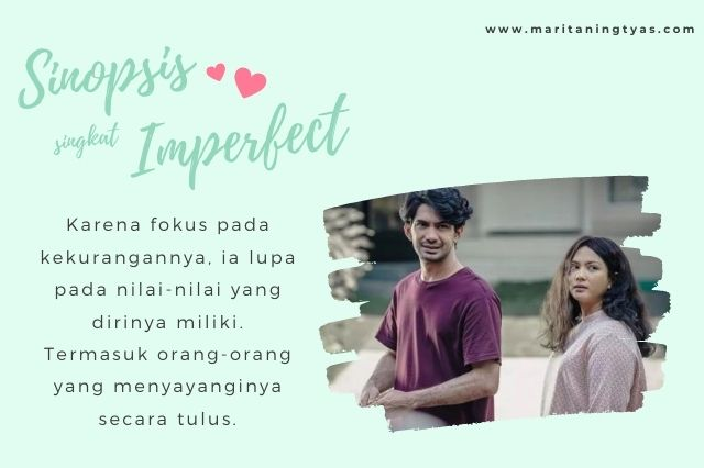 dhika dan rara dalam imperfect the movie