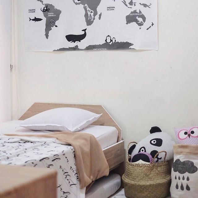 Desain Kamar Tidur Sederhana untuk Anak Perempuan