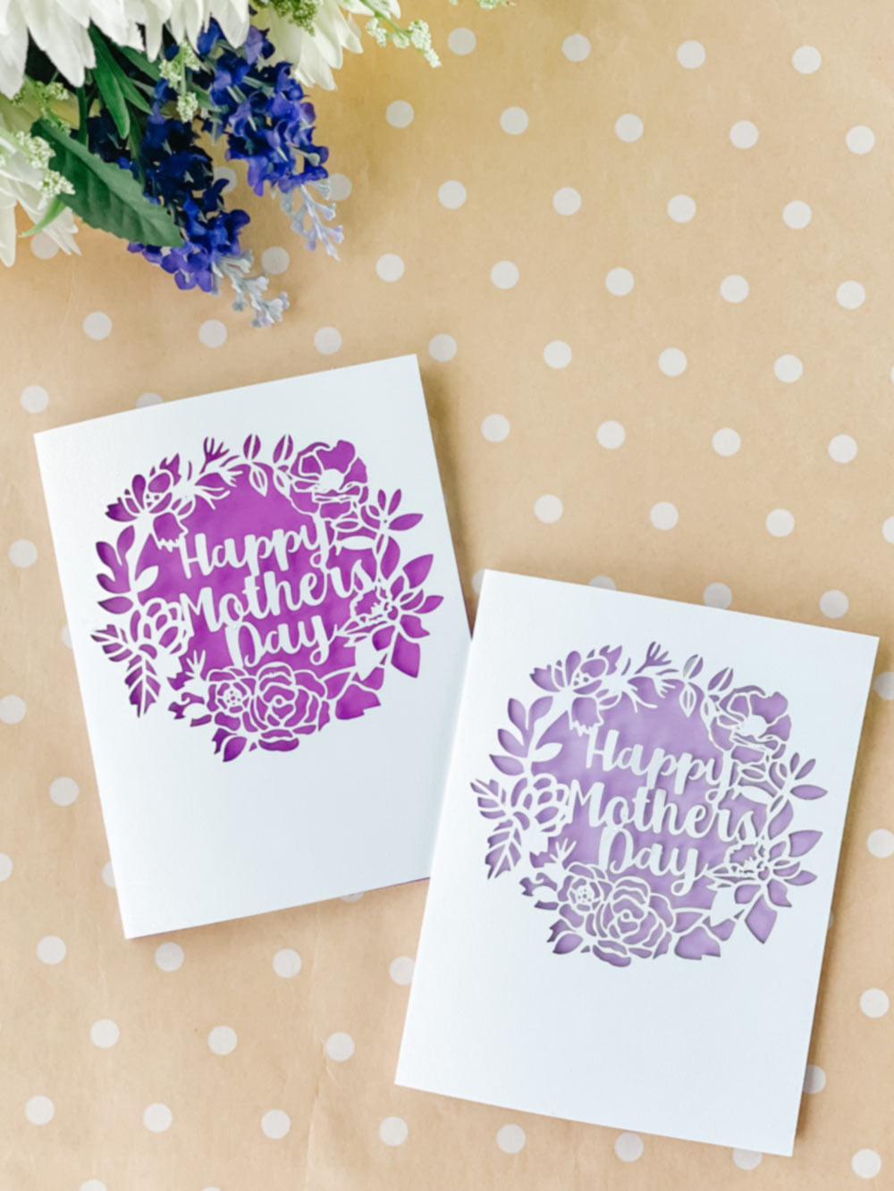 Happy Mother's Day Paper Cut Card