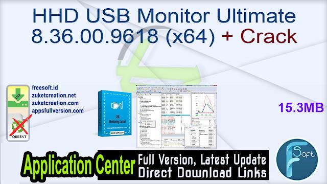 HHD USB Monitor Ultimate 8.36.00.9618 (x64) + Crack
