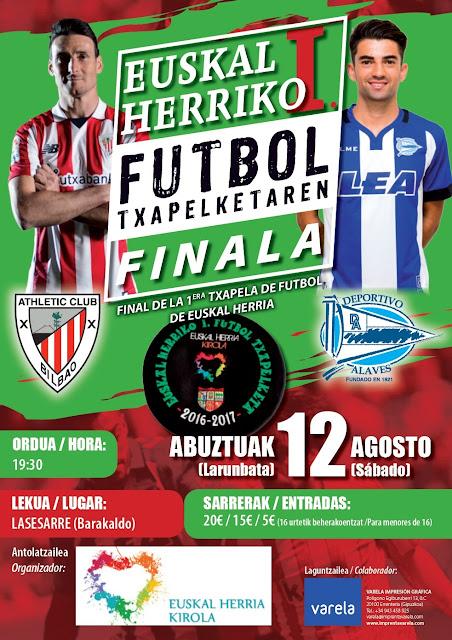 Fútbol | Athletic y Alavés jugarán en Lasesarre la primera Euskal Herria Kopa el 12 de agosto