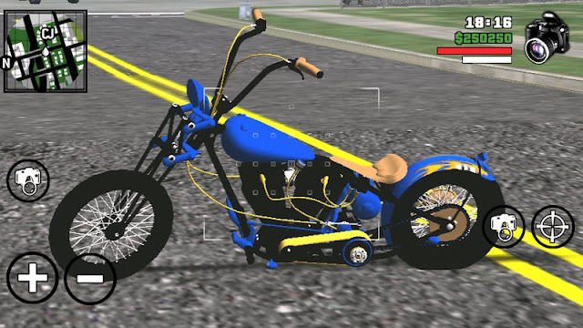 Nueva Freeway Solo Bike Mod Dff Only gtaam