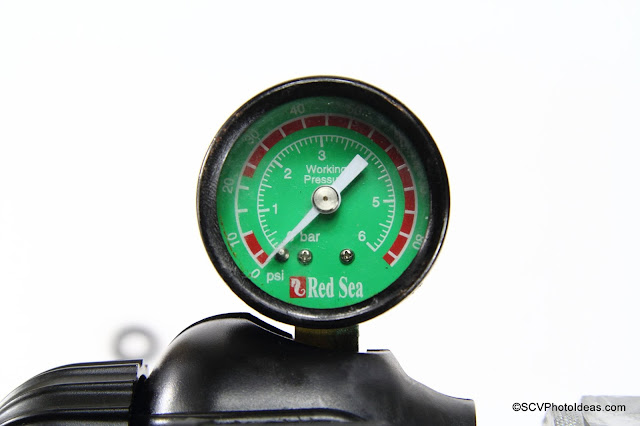 Red Sea low pressure gauge