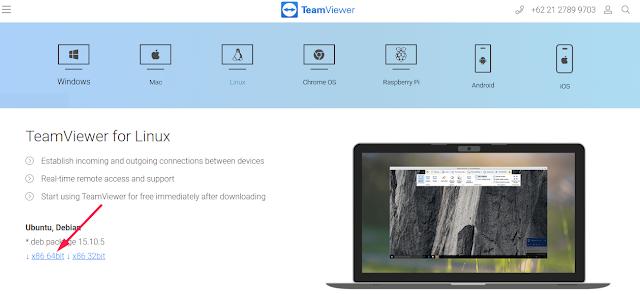 Download TeamViewer Linux
