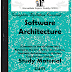 Engineering Software Architecture (SA) Study Materials cum Notes PDF E-Books Free Download