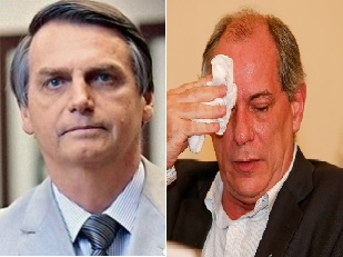 Jair Bolsonaro processa Ciro Gomes por calúnia e injúria