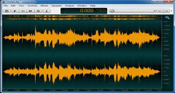 audio editor terbaik untuk pc