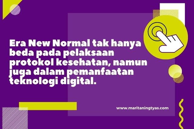 peran teknologi digital pada era new normal