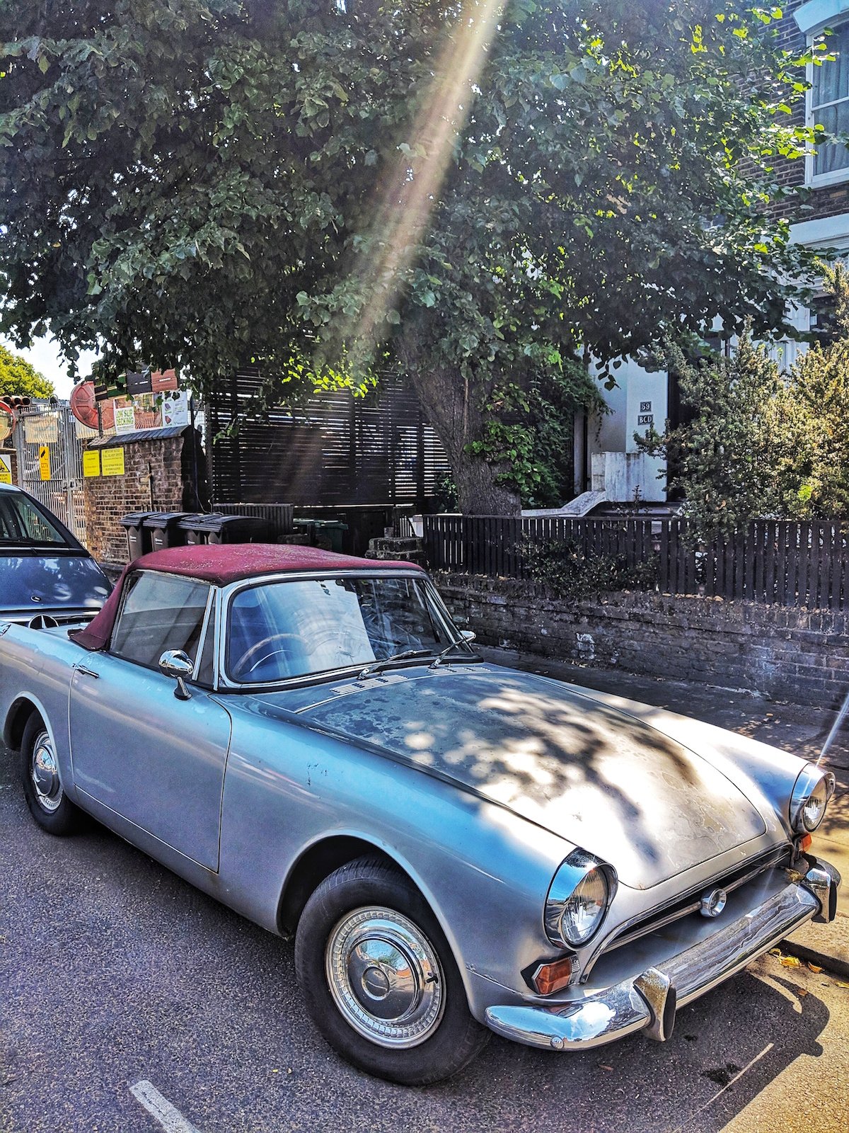 Vintage car in Kentish Town