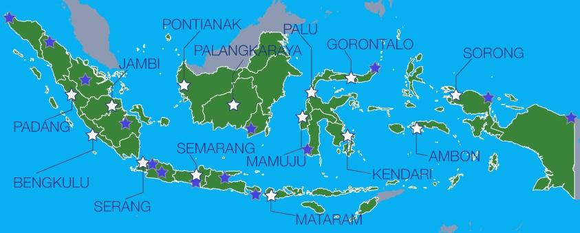 Peta Lokasi Tes CAT 2018