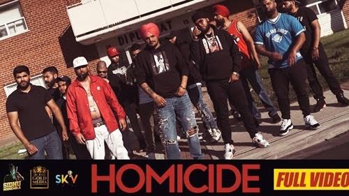 homicide lyrics siddu moose wala