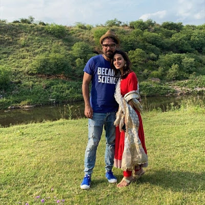 Iqra Aziz and Yasir Hussain New Road Trip Pictures