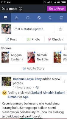 Facebook data mode
