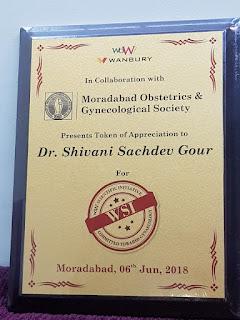 Dr Shivani Sachdev Gour awards