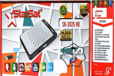 جديد جهاز STARSAT SR 2025HD V259 بتاريخ 11-07-2020