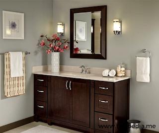java bathroom wall cabinet