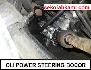 oli power steering bocor