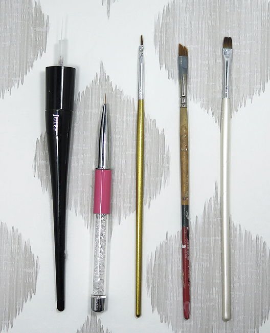 My Favourite Nail Art Cleanup Brushes For Blogging Procrastinails