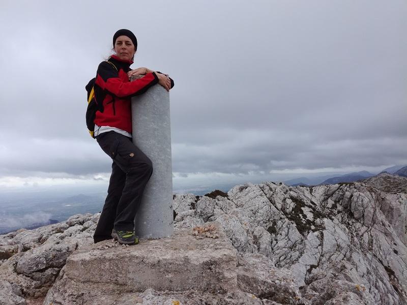 In cima al Puig Tomir