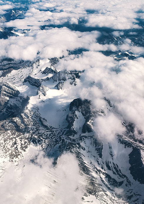 Aerial Photography Rocky Mountains