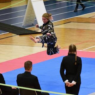 2018 Winter Badger State Games Jump Greatmats Martial Arts Mats
