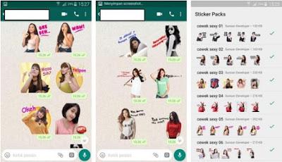 Kumpulan Stiker Cewek Seksi dan HOT WhatsApp Lengkap - WAStickerApps New 2019
