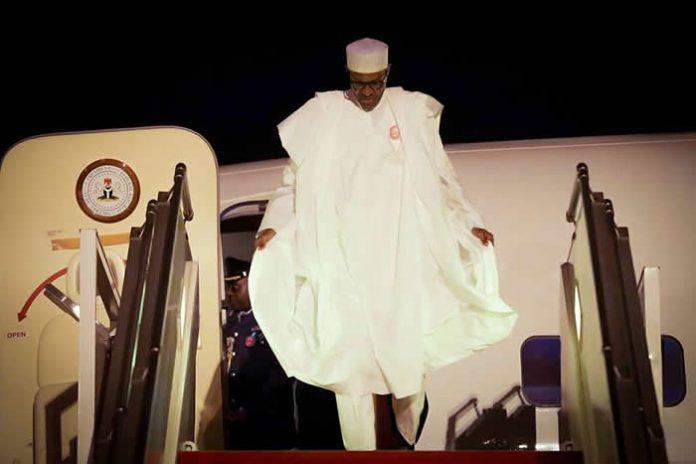 president buhari to arrive nigeria tomorrow resume work on monday