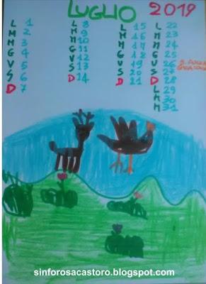 Il Calendario di Luglio di Sinforosa