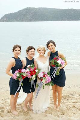 Vestidos de Damas de Honor para Bodas en la Playa