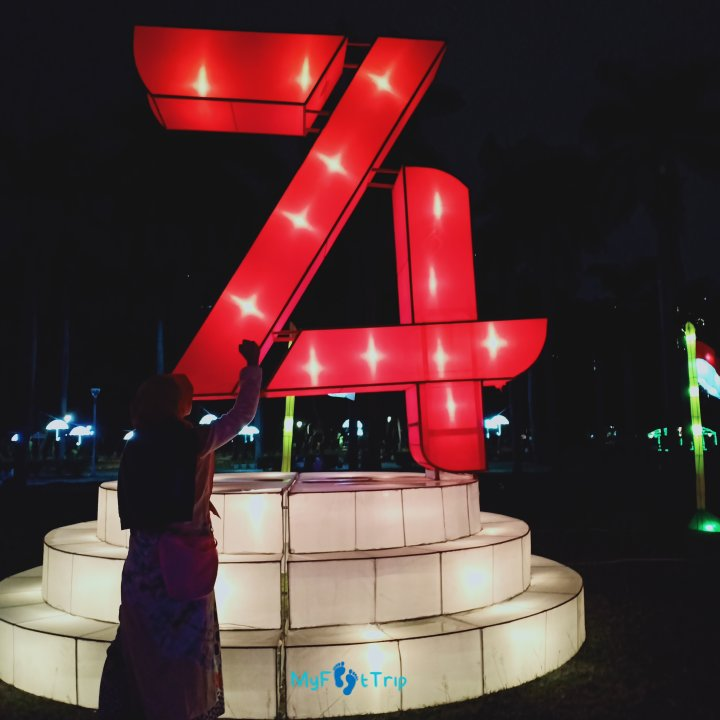 festival of light monas jakarta