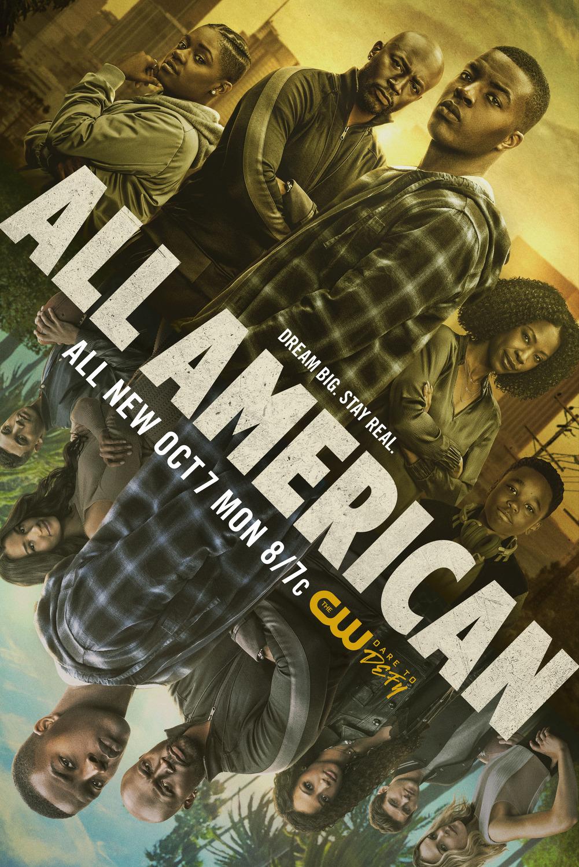 All American Temporada 1 a la 3 Dual Latino/Ingles 720p