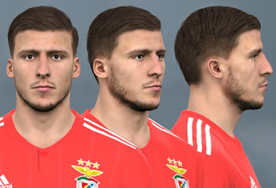 PES 2017 Faces Rúben Dias by WER Facemaker