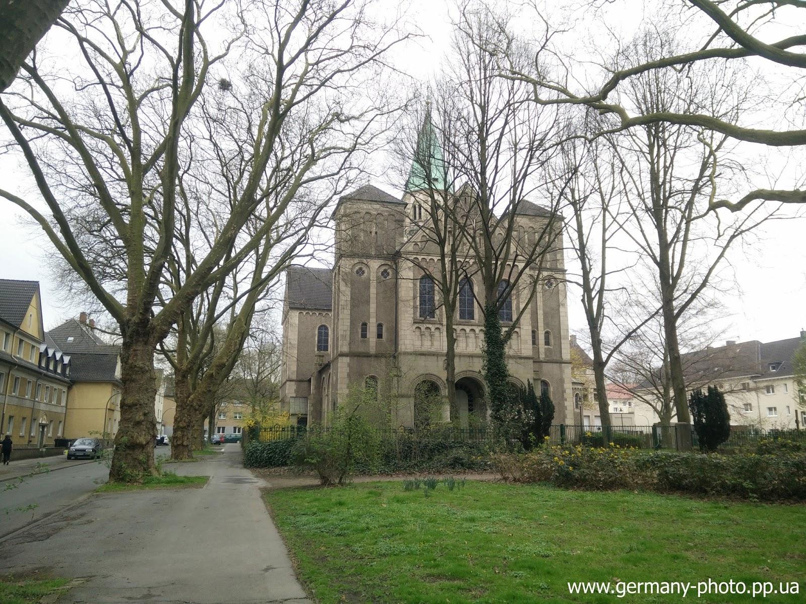 Церковь Сердца Иисуса в Дортмунде