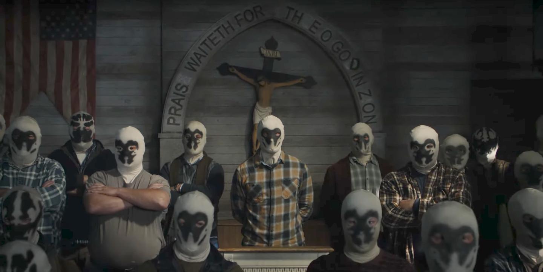 El Séptimo de Caballería reunido en una escena de Watchmen