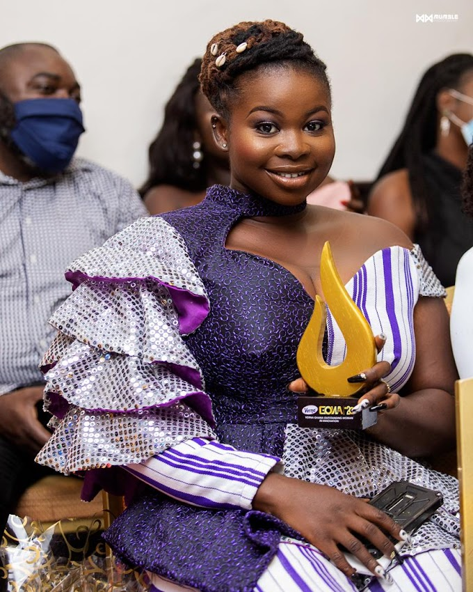 """Ghana's Top Female Painter Honored as """"Most Outstanding Woman in Innovation"""""""