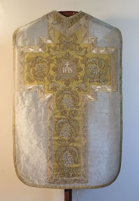 A 19th Century Chasuble in Silver Lamé