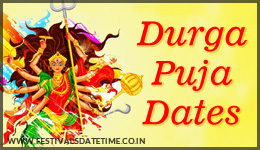 Durga Puja Dates