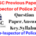 HPSSC SI Previous Years Question Paper,Answer Key 2016 ! HP Sub Inspector OF Police Question paper 2016 !