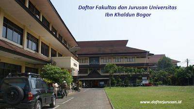 Daftar Fakultas dan Jurusan UIKA Universitas Ibn Khaldun Bogor
