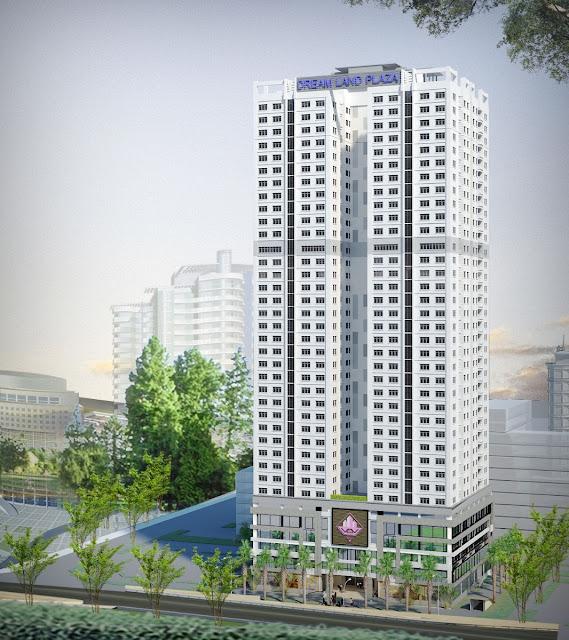 Phối cảnh dự án chung cư Dream Land Plaza 23 Duy Tân