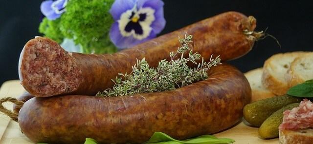 Two Italian Sausage Links