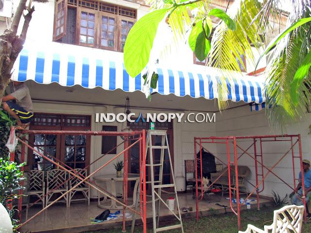 tukang pembuatan canopy kain tangerang