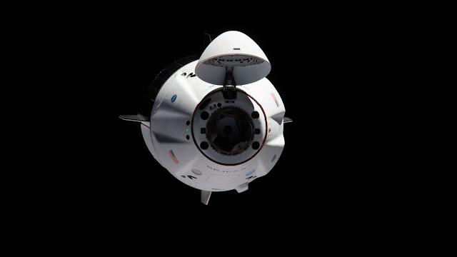 Crew Dragon Kapsülü Fotoğrafları
