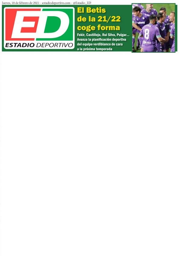 """Estadio Deportivo: """"El Betis de la 21/22 coge forma"""""""