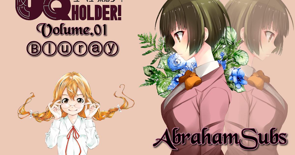 UQ Holder!: Mahou Sensei Negima! 2 - Vol.01 Blu-ray