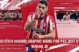 Atlético Madrid Graphic Menu 2021 - PES 2017