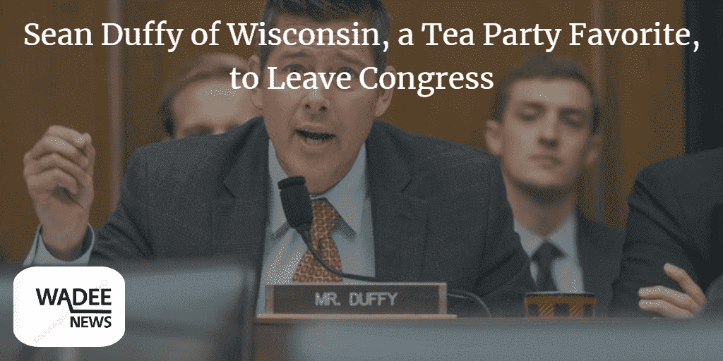 congress,tea party,sean duffy,learn while on the move,united states congress (governmental body),rep. sean duffy announces he is leaving congress in september,tea party movement (literature subject),sean duffy (lawyer),duffy,member of congress (government office or title),democratic party (organization),u.s. congress,republican party (organization),least developed countries,conservative,sean