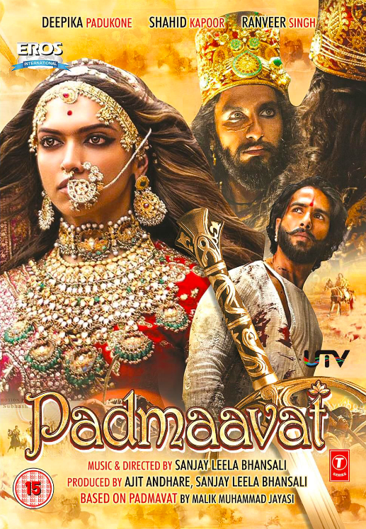Padmaavat (2018) Hindi 450MB BluRay 480p x264 ESubs