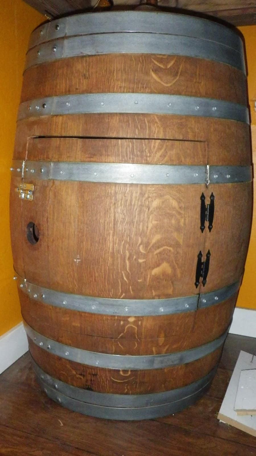 Wine Barrel Cabinet Crafty Trev