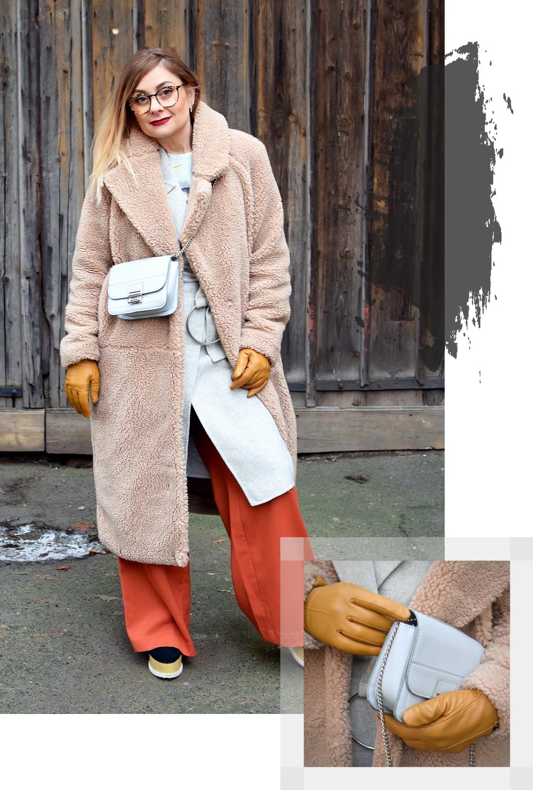 Modisches Outfit für kaltes Wetter, Modeinspiration für Frauen ab 40